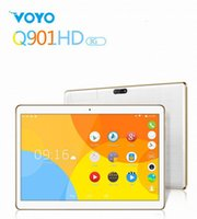 """Cheap VOYO Q901HD Tablet PC 3G Phablet MTK6582 Quad Core 9.6"""" Inch Tablets Android 4.4 IPS 1GB 8GB White tablets android"""