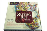 Cadeaux Artisanat Tastic cordes Art Kit de Noël CRAFT TASTIC collection String Art DIY Kit remontage manuel jouet de Noël Fonds d'écran Livraison gratuite