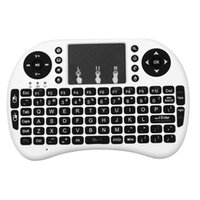Wholesale Wireless GHz Portable Handheld Pocket Multimedia Keyboard Touchpad Mouse for PS3 XBOX PC TV Boxes white