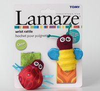 baby wrist bands - Lamaze wrist band band leg warmers neonatal plush baby toys