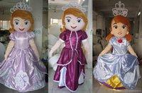 Cheap RH0409 adult three kind of sofia the first mascot costume