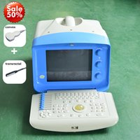 Wholesale New Veterinary Ultrasound machine vet handheld ultrasound scanner with any two probes Dog Pig Sheep Cow Horse Pregnancy Test Ultrasound