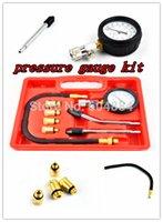 automobile garages - Multipurpose Engine Cylinder Compression Tester Kit Automobile Pressure Gauge For Cars Motorcycle Garage Tool
