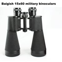 Cheap All-metal material,Baigish HD 15x60 zoom,high power low-light night-vision military binoculars with rangefinder for tourism