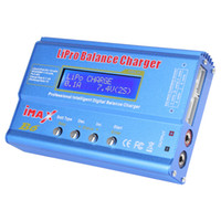 airplane blue - 80W IMAX B6 Digital LCD RC Lipo Nimh Nicd Battery Balance Charger Discharger AFD_304