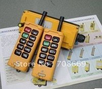 Wholesale 2 Transmitters Motions Speed Hoist Crane Truck Remote Control System VAC