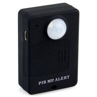 Wholesale Mini PIR MP Alert Infrared Sensor Alarm Wireless PIR Sensor Motion Detector GSM Alarm Monitor A9 Hot Sale