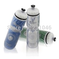 plastic water bottle sports - 710ML ROCES Outdoor Sports Bicycle Water Bottle Cycling Camping Bicycle Plastic Flask Water Bottle With Dust Cover colors
