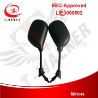 atvs accessories - M8 Screw Diameter mm E mark Approved Mirrors for Electric Scooter Gas Scooter and ATVs Scooter Spare Parts amp Accessories