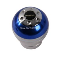 automobile transmission gear - Fashion Universal Aluminum Blue Car Gear Shift Knob Shifter Lever Fit for Automobile Manual Transmission