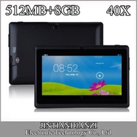 epad - 40X quot inch Capacitive Allwinner A33 Quad Core Android dual camera Tablet PC GB MB WiFi EPAD Youtube Facebook B PB