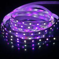 led tape light - LED Strip SMD RGBW Flexible light RGB White Warm White colorful Tape Light m LEDs V DC V DC