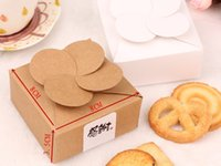 Wholesale Macaron Gift Bakery Cookie Favor Cupcake Chocolate Packaging Box Mini Christmas Wedding Kraft Paper Cake Box PB