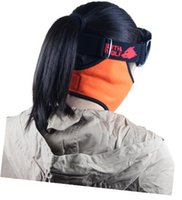 Wholesale Windproof warm fleece winter cycling motorcycle masks and ski skiing mask snowboarding outdoor sports face masks