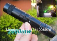 2w laser - best selling2000mw w laser pointers green lasers burn match adjustable w changer box