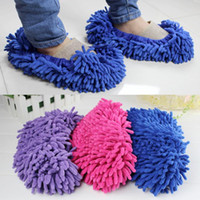 Wholesale Mop Slipper Floor Polishing Cover Cleaner Dusting Cleaning Foot Shoes Pair ZH129