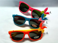 ans ear - Sunglasses For Boys Ans Girls Toad Lovely Decoration Factory Direct Sales Fashion Style Metal Frame Cartoon Rabbit Ears