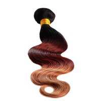 Cheap Hot Sale Ombre Hair Extension 6A Body Wave Colorful Brazilian Hair Factory Price Wholesale Machine Weft