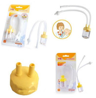 baby mucus aspirator - Fashion Hot Infant Safe Nose Cleaner Vacuum Suction Nasal Mucus Runny Aspirator High Quality hot baby care