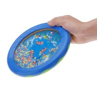 baby drum toys - Musical Toy Ocean Wave Bead Drum Gentle Sea Sound Educational Musical Instrument Gift for Baby Kid Child I888