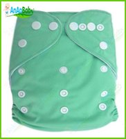 Wholesale Reusable Cotton Baby Cloth Nappy Cheap Comfortable Baby Cloth Diaper One Size Fits All Without Inserts