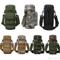 Wholesale New Molle Outdoors Tactical Shoulder Bag Gear Water Bottle Pouch Kettle Waist Backpack For Army Fans Guaranteed