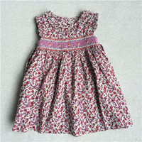 age sleeve designs - Hot Dresses The Little Baby Girl Dresses Print Flowers Printed Sundress Party Dresse New Model Brand Clothes Age M M New Design