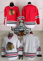 blank hockey jersey - blank Stanley Cup Champions Patch White Hockey Jerseys Ice Winter Home Away Jersey Stitched Logo Authentic Mix Order
