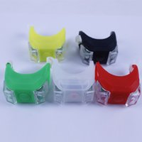 Wholesale Bike car frog lamp safe warning Safety Warning Rear taillights LED silicone