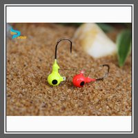 fishing jig head hooks - Partner Lead Round Head Fishing Jigs Bait Hooks High Quality Fishing Tackle Equipment Q01