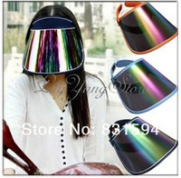 Wholesale Summer Block Protection Visor Hiking Golf Tennis Outdoor Sports UV Sun Hat Cap