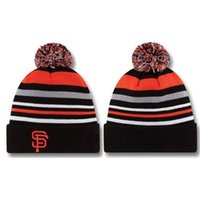 Wholesale San Francisco Beanies Giants Beanies Caps Cheap Winter Cap Popular Winter Warm Beanies Sports Team Hats Newest Beanies Caps Top Quality Cap