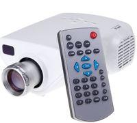 Wholesale Mini Full HD P Multimedia LED Projector Home Cinema Support AV TV VGA USB HDMI TF Video DHL ZKT