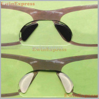 accessories nose glasses - Hot selling Pairs Clear black Silicon Stick On Nose Pads For Eyeglasses Sunglasses Glasses non slip Eyeglasses Accessories