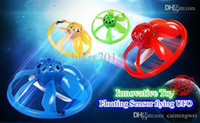 Wholesale Infrared Senor UFO Flying Fairy Saucer RC Remote Control Sensing Mini Helicopter Floating Ball Sensor Mini Drone