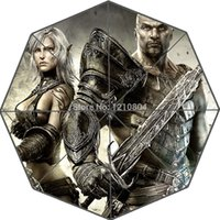 action hunting games - Custom Action Game Hunted The Demon s Forge Portable Fashion Foldable Umbrella