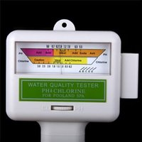 Wholesale Brand New SPA Water quality Tester Reliable Water PH CL2 Chlorine Tester Level Meter for Swimming Pool PH meter for Sunna H533