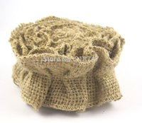 Wholesale Approx cm DIY Natural Color Wrinkle Hemp Ribbon Jute Rope Twiner Lace Paragraph Zakka rolls