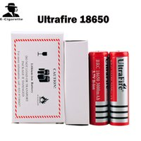 Wholesale Ultrafire mAh Rechargeable Lithium Li ion Battery with PCB V Fit XCUBE II Kanger Nebox istick W VAMO V5 SMPL Mod