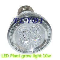 Wholesale Full Spectrum W E27 AC85 V LED Plant Grow lights Bulb lamp red blue for Flower Plant Hydroponics system Growth
