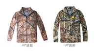 Wholesale Browning double fleece cardigan Mens warm breathable fleece wearing camouflage primer C151