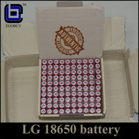 Wholesale Authentic lg18650he2 mah LG18650 battery he2 batteries for for cloupor mini sigelei w istick w ipv4s ipv d2 snowwolf w