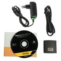 Cheap New USB 2.0 LPR Printer Print Server Hub Adapter Ethernet LAN Networking Share Free shipping & wholesale