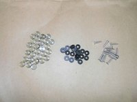 Wholesale 12mm decorate stainless steel lag spike screw nail lid cap cover with rubber blanket