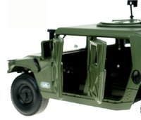 american military vehicles - Kedive American army Hummer battlefield vehicle off road vehicle model of grade alloy military model