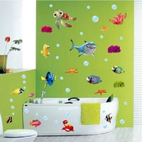 cheap bathroom decals stickers ocean  free shipping bathroom, Home decor