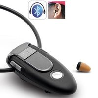 Wholesale Bluetooth With Invisible Mini Hidden Earphone Wireless Voice Transmitters Kit Wireless Bluetooth Headset Covert Hidden Earphone