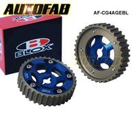 Wholesale AUTOFAB High Quality CAM GEAR For Toyota All Models AGE Blue Red Default Color is Blue AF CG4AGEBL