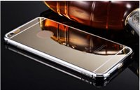 aluminum luxury goods - Cheap good quality Luxury New Aluminum Ultra thin Mirror Metal Case Cover for iPhone Plus