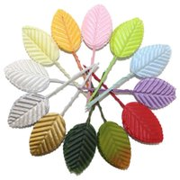 artificial leaves - New Arrived Artificial leaves flower leaves high simulation leaves nylon stocking flower party decoration